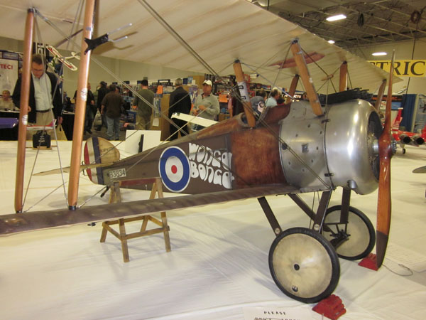 Best in Show! 1/3-scale Sopwith Camel