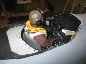 Martin Baker MB.5 Cockpit