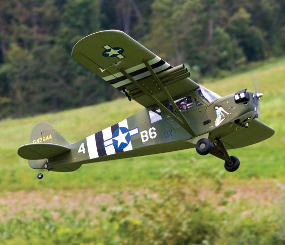 Kondor Model Products L-4 Grasshopper-Exclusive Online Flight Test