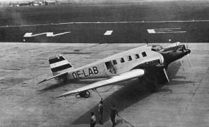 trans-Atlantic airmail service