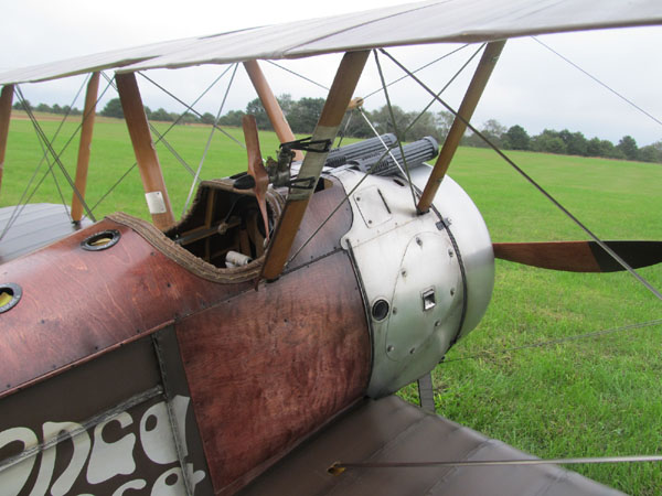 Road to Top Gun Update –Mike Gross Sr. Sopwith Camel
