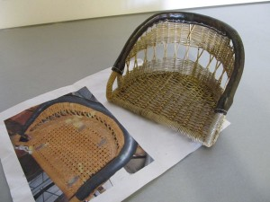 MG wicker seat