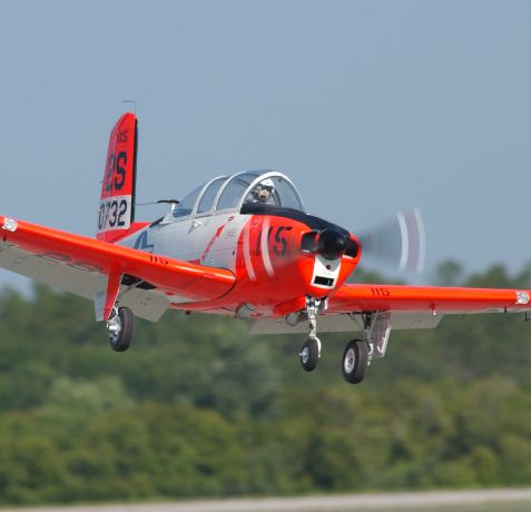 Road to Top Gun Update — Mark Frankel, Beechcraft T-34B