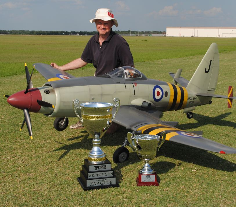 2012 Mr.Top Gun Winner Dave Wigley — Westland Wyvern