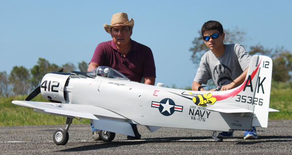 Sky Rader Ramon Medina Builder & Ricardo Mirandes Pilot