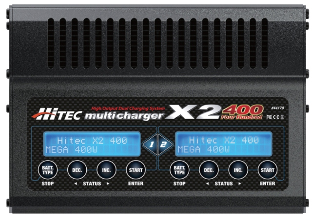 Hitec's X2-400 Multicharger