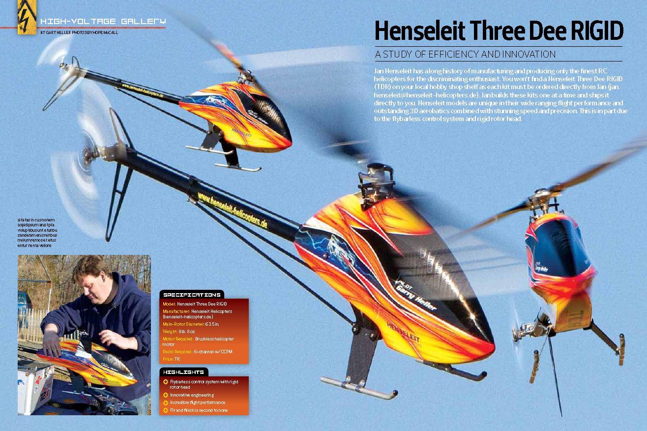 Ultimate Electrics: Henseleit Three Dee Rigid