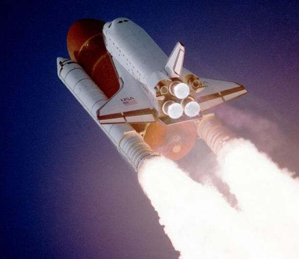A Ride to Space & Back: video from a booster engine