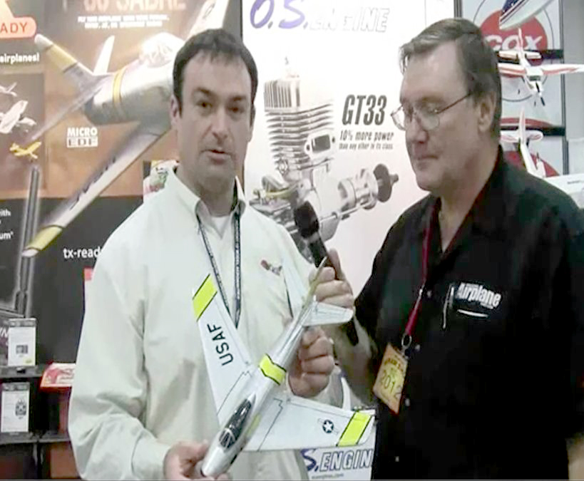 Great Planes Micro F-86 Sabre Jet EDF — Video interview with Chris Sydor