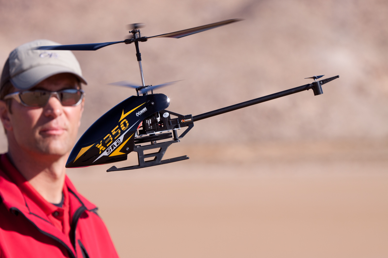 Extreme Flyers X350: an agile coaxial that can handle the wind