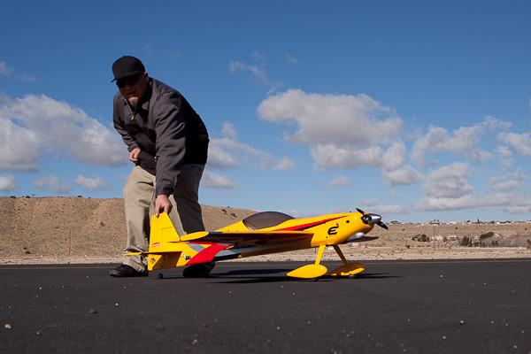 Adrenaline Rush: Hangar 9 Katana 50