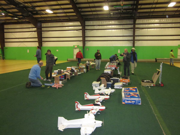 """Indoor Micro RC Fun — Central CT RC Club Fly """"IN"""""""