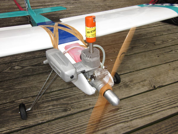 Break-in and Tuning 2-Stroke Glow Engines — Picking the right propeller for Fun Fly!