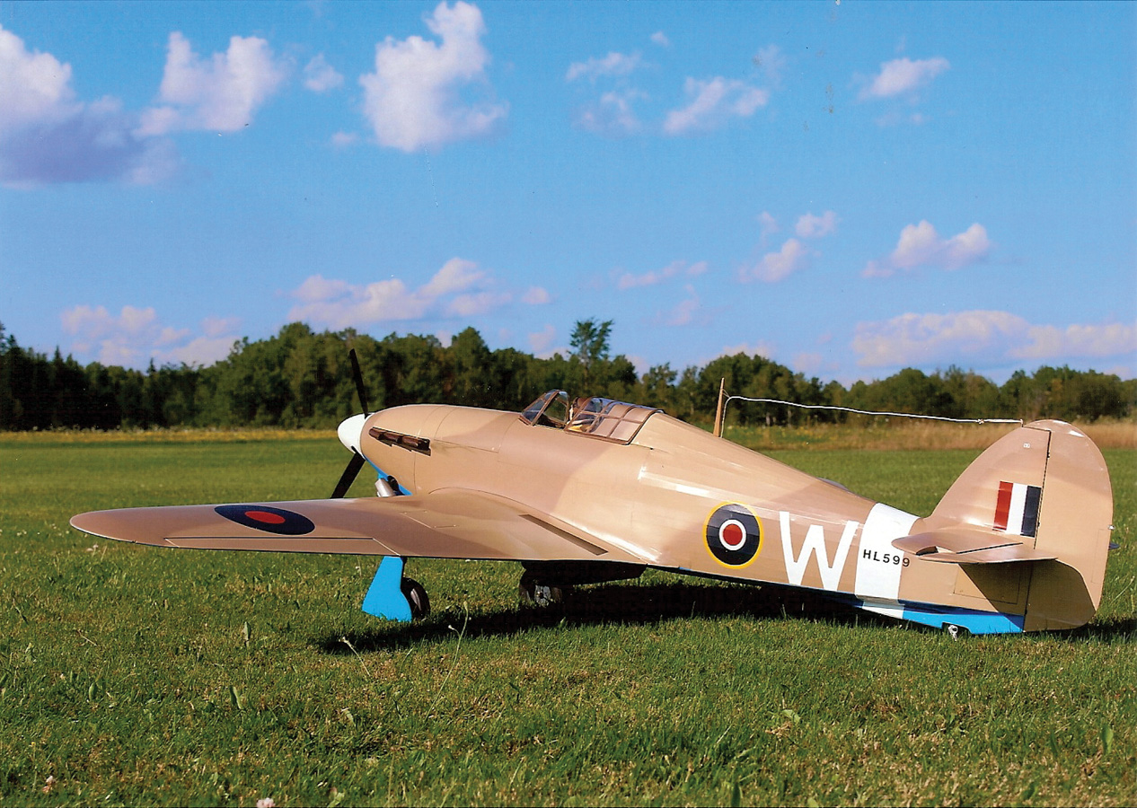 Pilot Projects: Hawker Hurricane [January 2012]