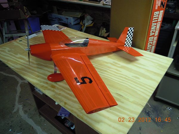 Alien Aircraft Extra 300 — Online Build-along