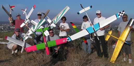 Slope Aerobatics: Gliders take center stage!