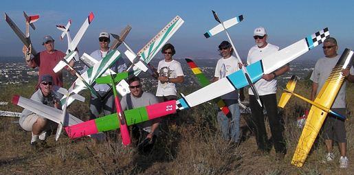 Slope Aerobatics: Gliders take center stage!