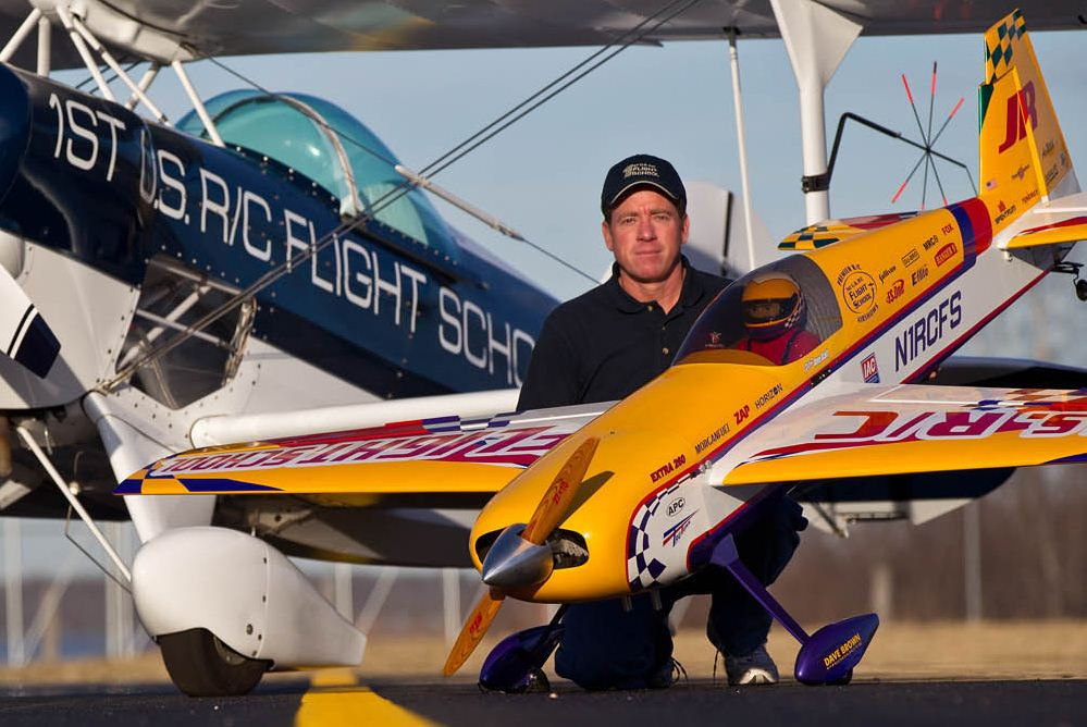 Dave Scott: a passion for planes!