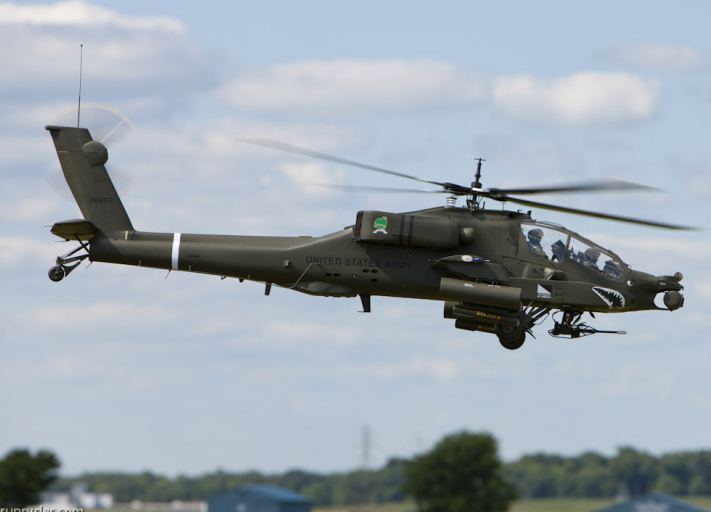 Review: AH-64 Apache with stabilization system