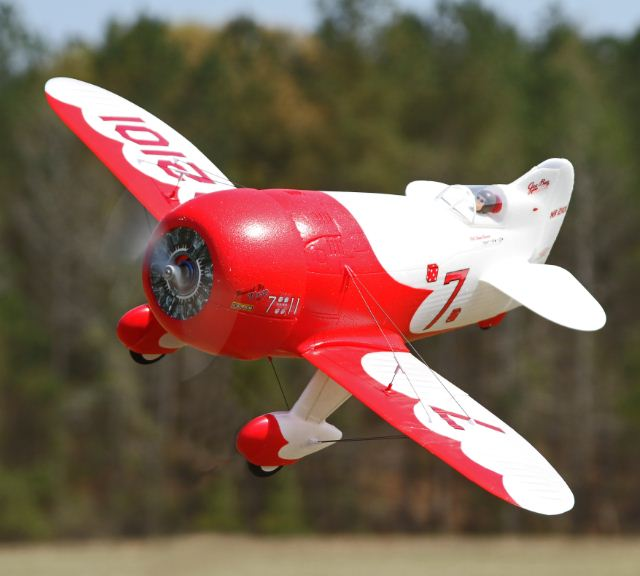 Exclusive Sneak Peek — E-flite UMX Micro Gee Bee R1 — with Video