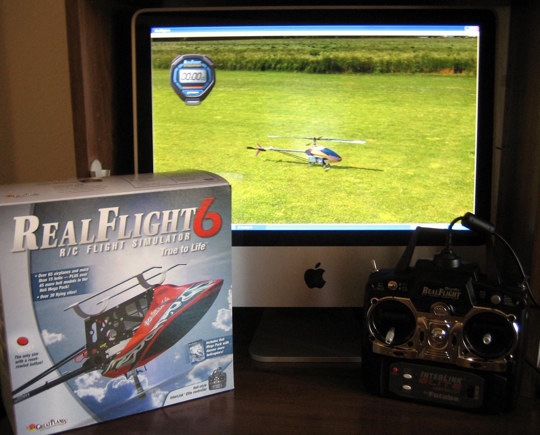 Training with a Flight Simulator