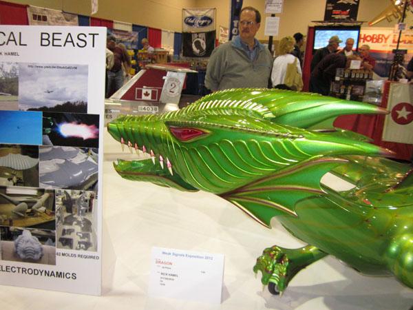 Fire-Breathing RC Flying Dragon