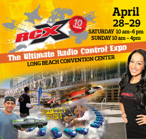 RCX– the Ultimate Radio Control Expo!