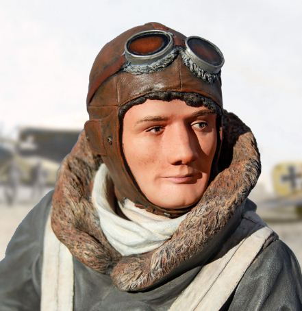 New 1/4-Scale WWI Pilot Figure