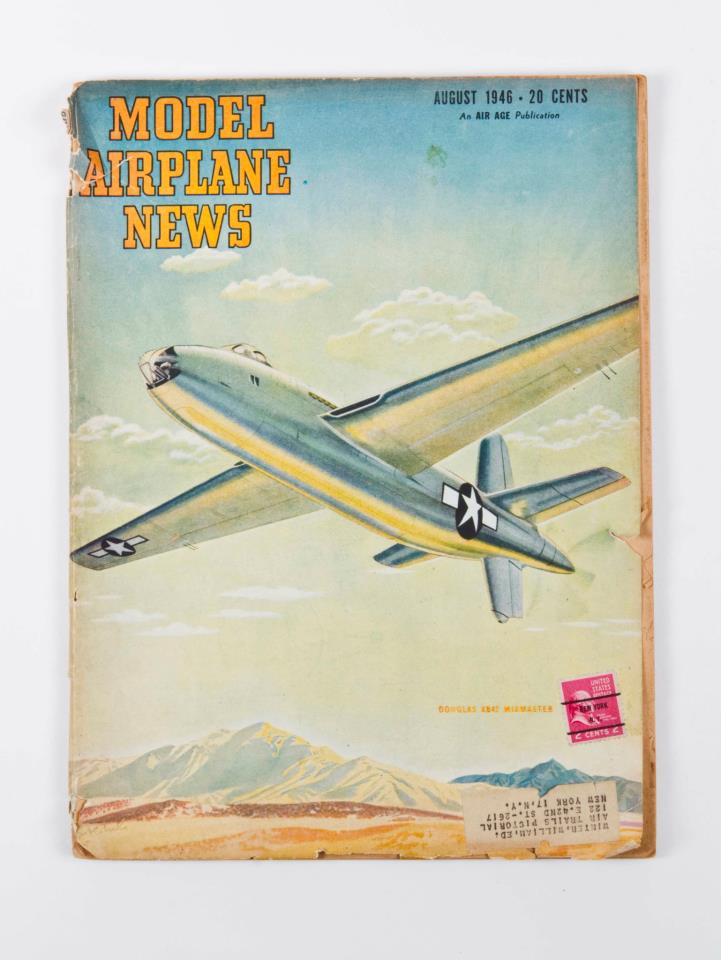 Sweet find! You never know where Model Airplane News will pop up!