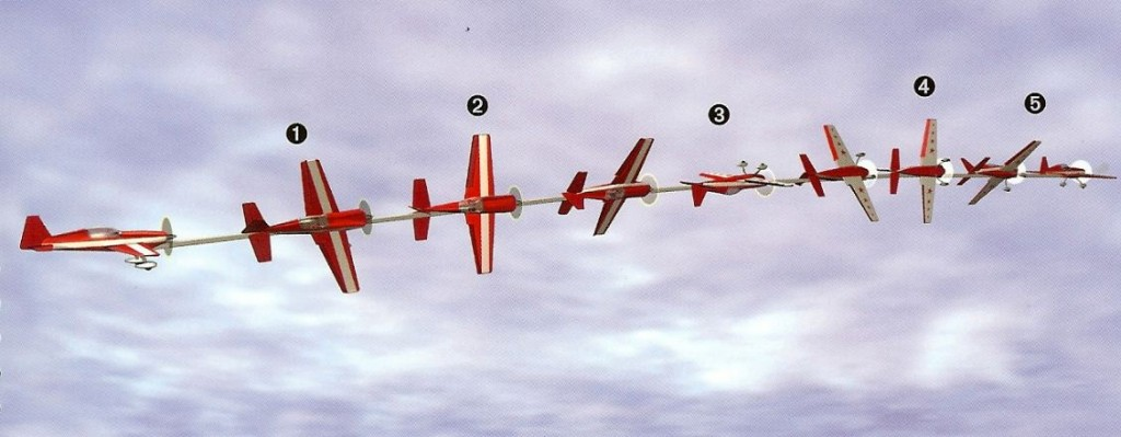rc aerobatics precision roll