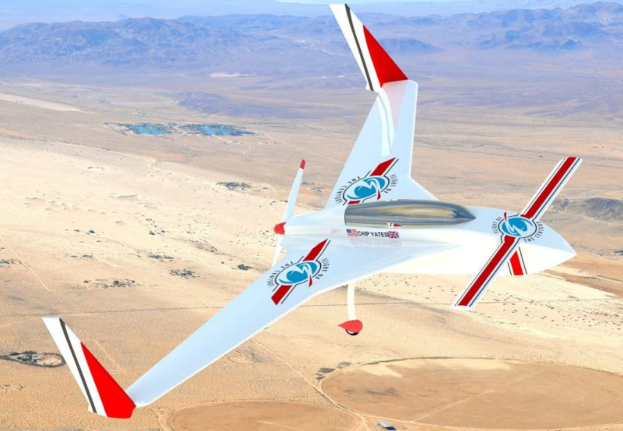 An electric plane that can fly forever??