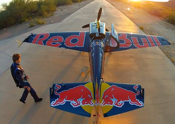 Wild ride! Kirby Chambliss in-flight video