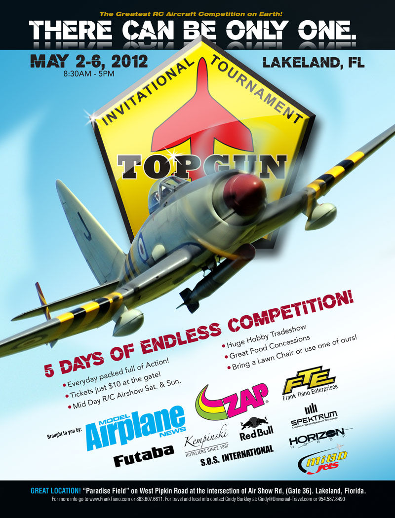 Top Gun 2012 Pilots and Event Schedule