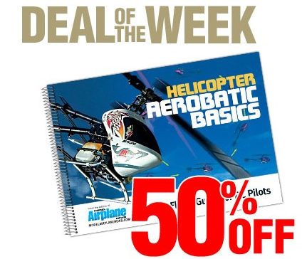 "Air Age Store Deal Of The Week: 50% off ""Helicopter Aerobatic Basics"""