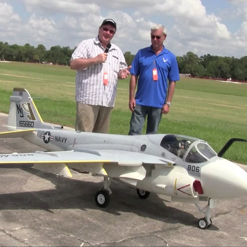 Interview with Mike Selby about the A-6E Intruder