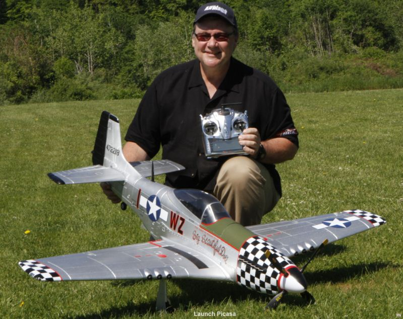 KMP P-51D Mustang: Super-scale foam fighter