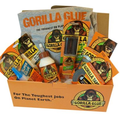 Win a Gorilla Glue Prize Package!