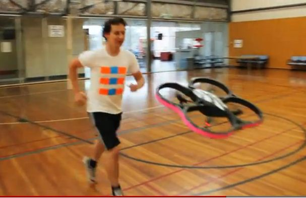 Joggobot: a quadcopter running companion