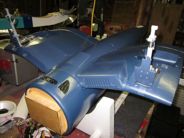 Workshop Build-Along — Top Flite Giant Scale F4U Corsair — Part 2
