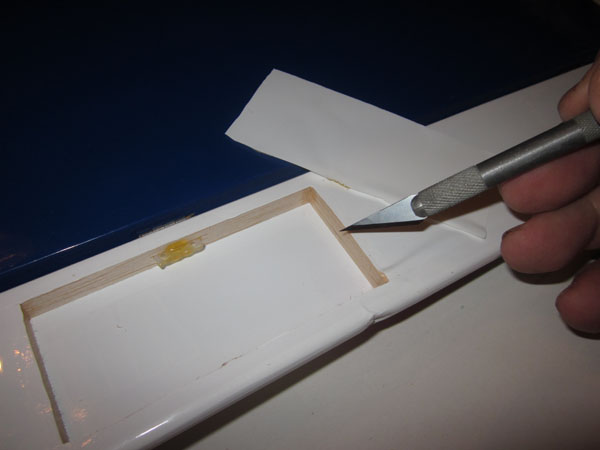 Quick and Easy Wing Repair