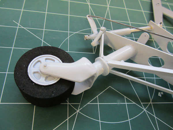 Scale Corsair Tailwheels, Earl Aune Scale Upgrade