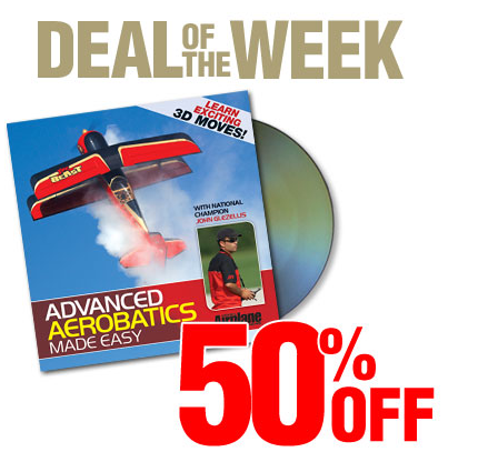 50% Off Deal Of The Week: Advance Aerobatics Made Easy
