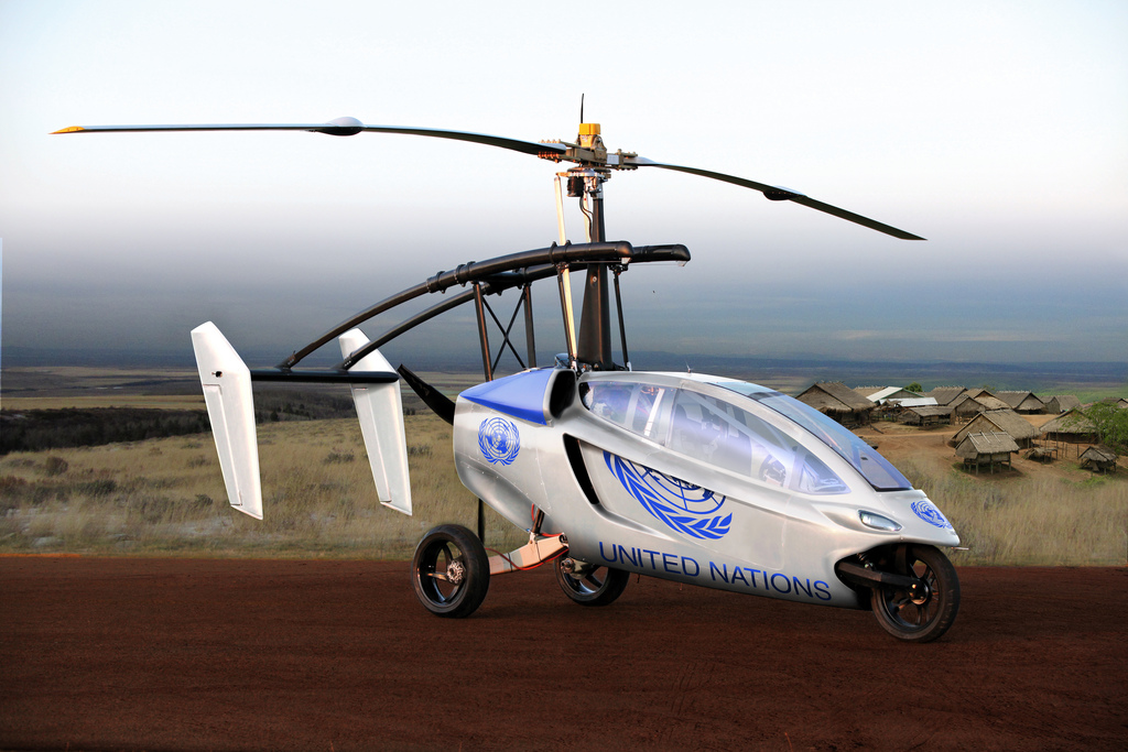 Finally, A Flying Car!