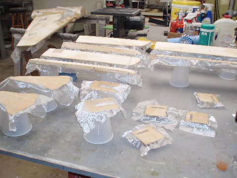 how to clean fiberglass resin from brush