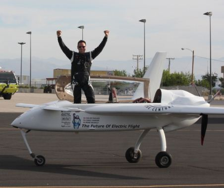 202.6mph! World's Fastest Electric Airplane w/Video