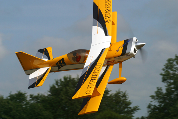 Development of the Hangar 9 Ultimate Biplane, Designer Mike McConville Shares his thoughts.
