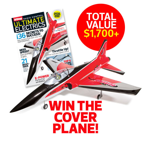 Model Airplane News' E-Flite Habu 32 EDF FACEBOOK Giveaway!