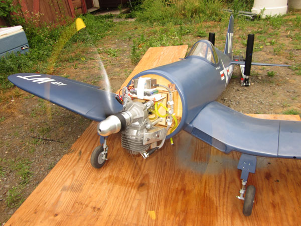 Top Flite Giant Scale F4U Corsair Build-along Part 12