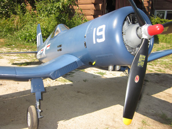 Top Flite Giant Scale F4U Corsair Build-along Part 11
