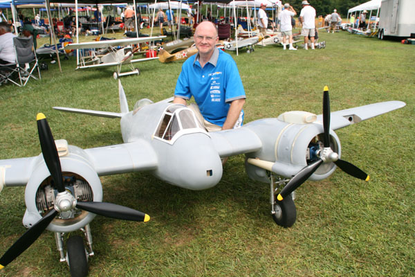 Mr. Top Gun's new Bristol Beaufighter